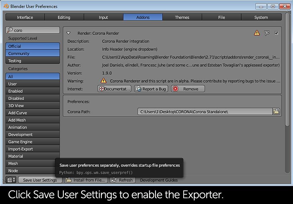 tutorial-corona-renderer-for-blender-installation-slide-01g