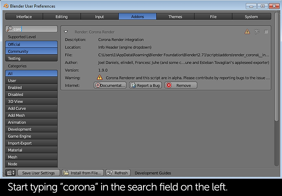 tutorial-corona-renderer-for-blender-installation-slide-01d