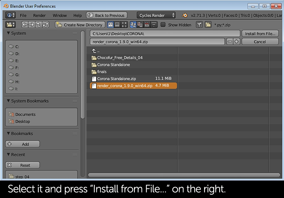 tutorial-corona-renderer-for-blender-installation-slide-01c
