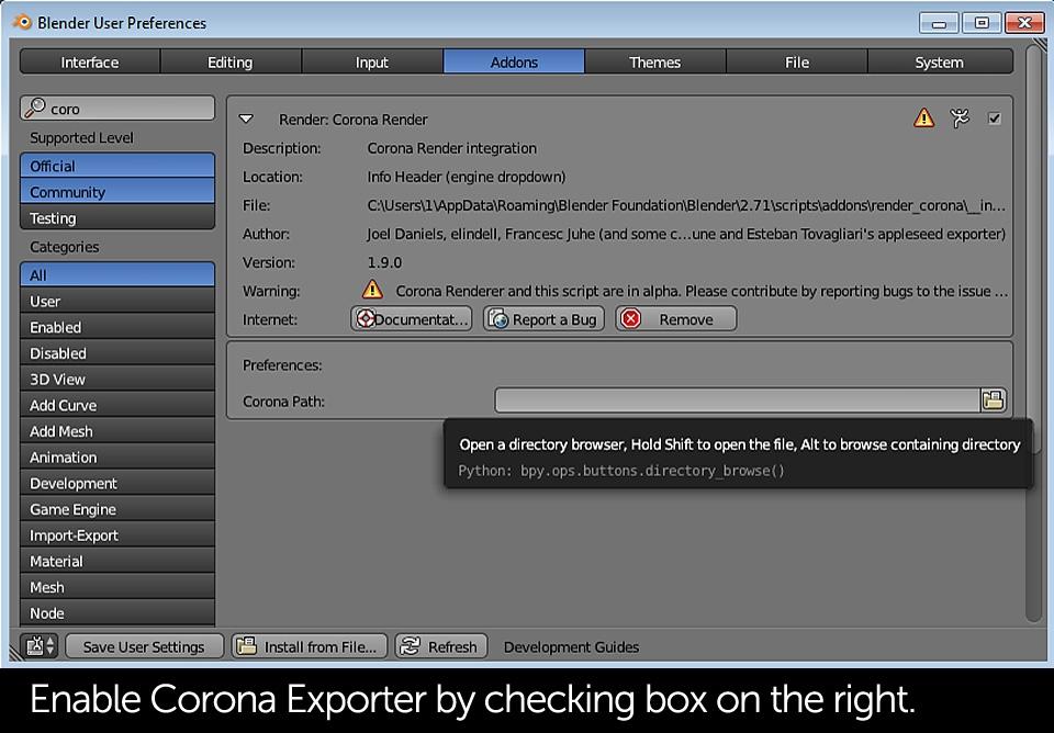 tutorial-corona-renderer-for-blender-installation-slide-01e